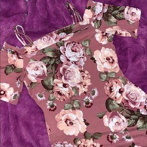 Fashion nova midi dress size s
